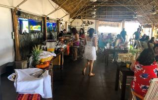 Brunch buffet Mangos Beach Club Puerto Vallarta