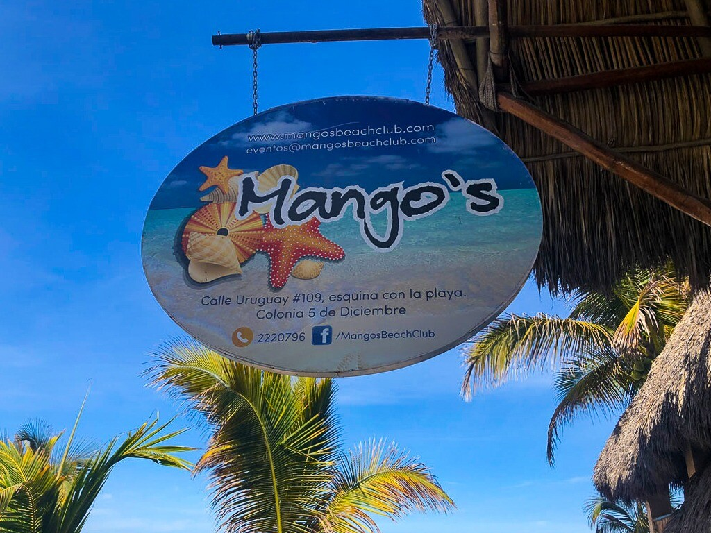 Mangos Beach Club