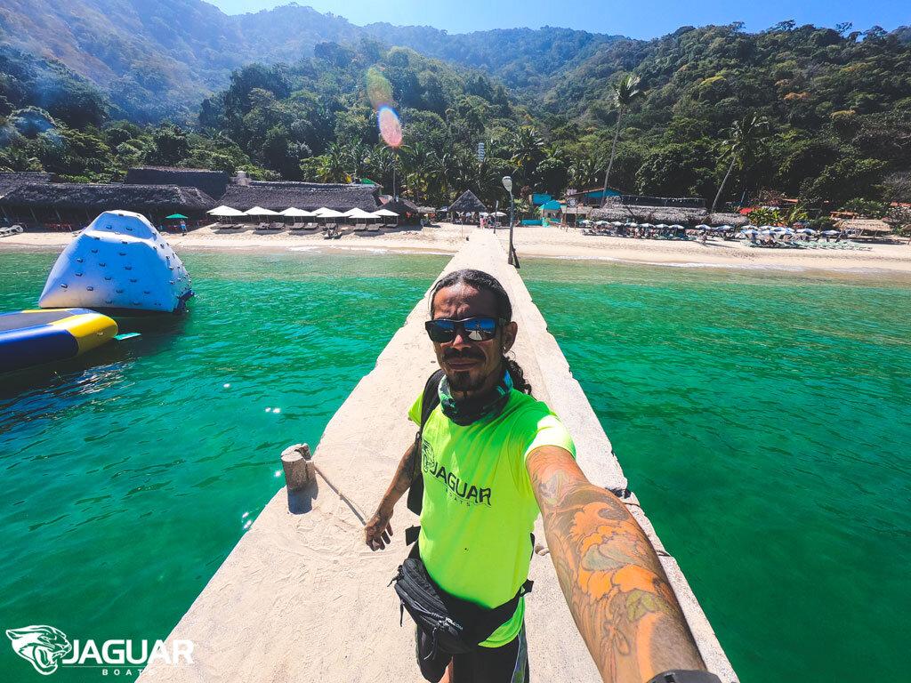 Captain Cris of Jaguar Boats PV