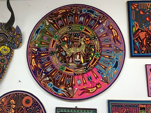 What is Huichol Art