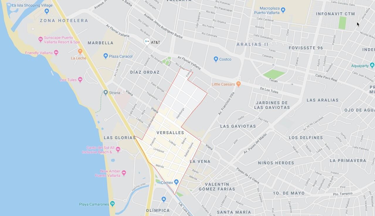 Versalles Puerto Vallarta