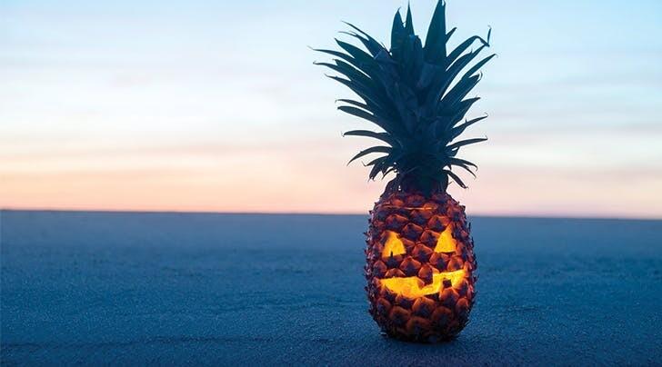 Beer, Knives, Pineapples & Fun: Halloween at Monzón