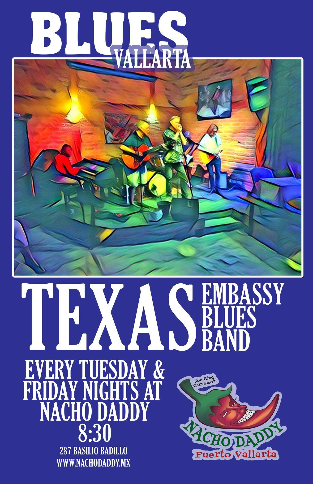 Friday Night Blues with Texas Embassy Blues Band