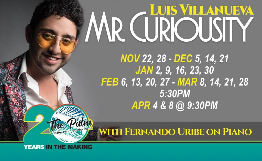 Luis Villanueva Mr Curiosity