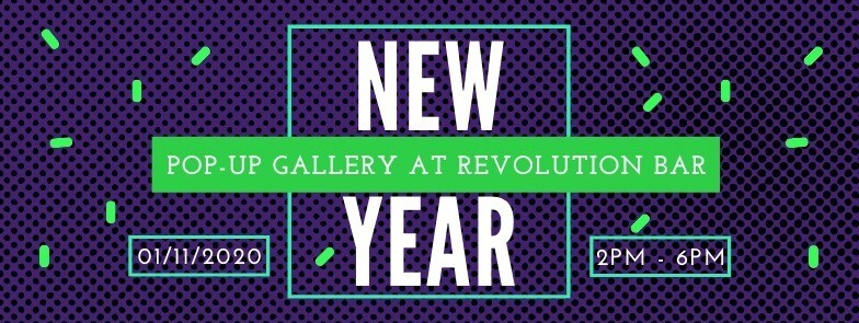 Starving Artists Traveling Gallery New Year Pop Up