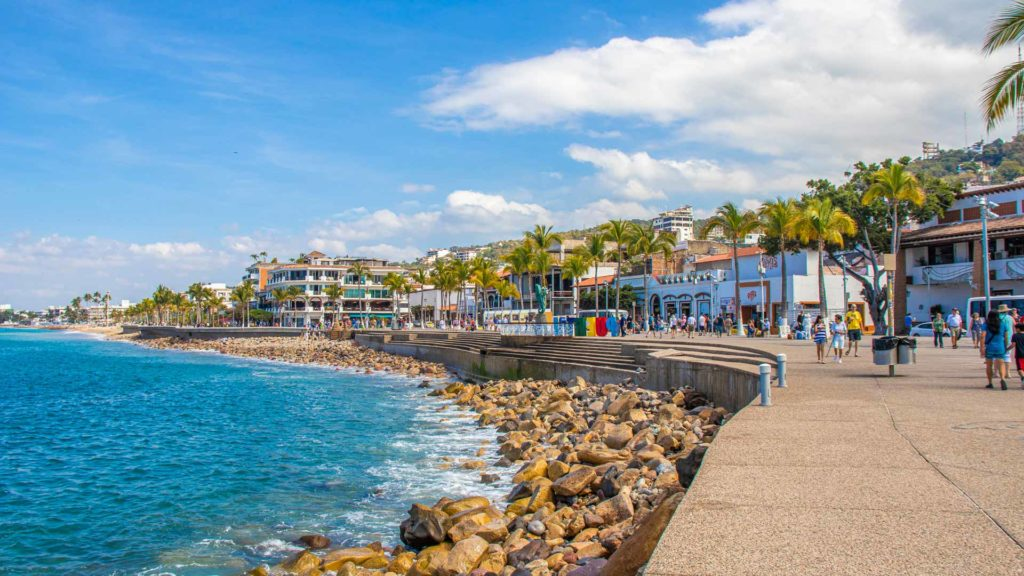 Walk the Malecon in Puerto Vallarta Mexico