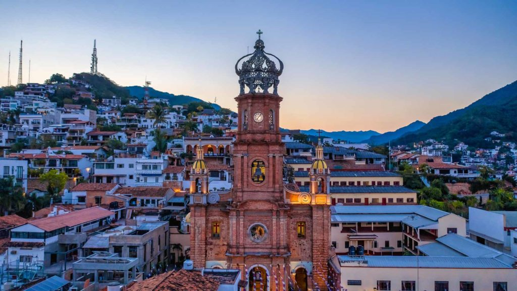 Church of Our Lady Guadalupe Puerto Vallarta Mexico